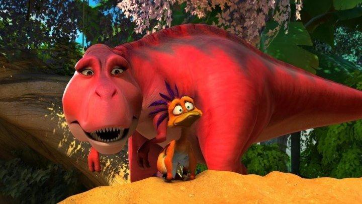 ДИНОМАМА - Мультфильм смотреть онлайн бесплатно в хорошем качестве Мультик про динозавров для детей