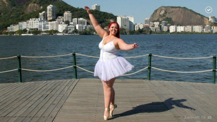 Балерина плюс сайз