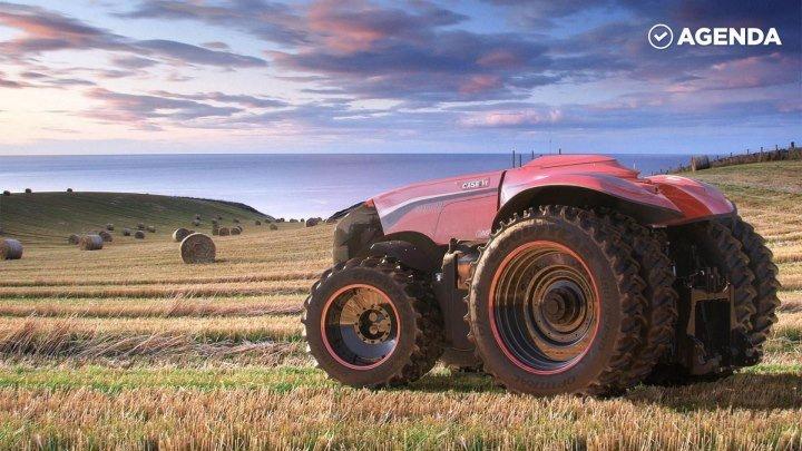 Беспилотные тракторы