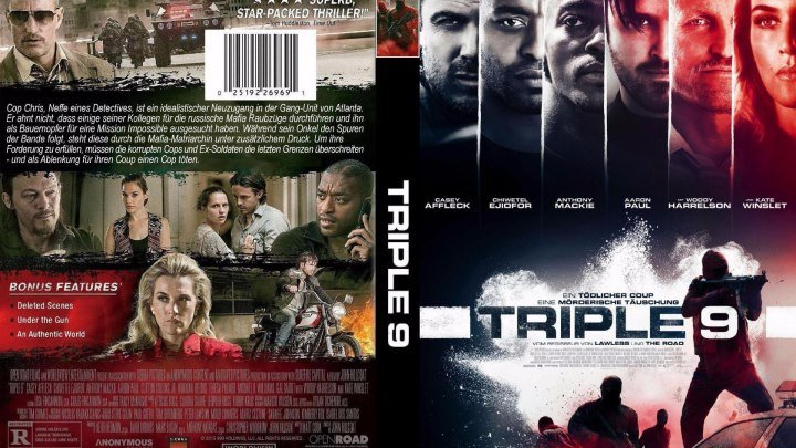 Три девятки HD(2016) 1О8Ор.Криминал,Драма,Триллер