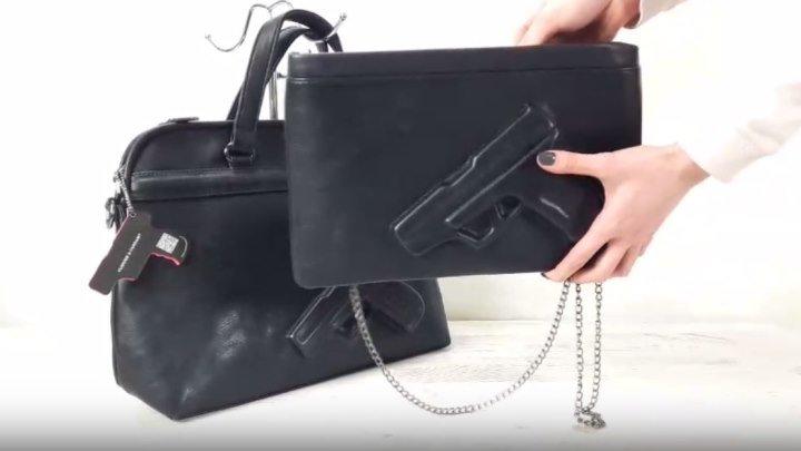 Обзор популярных сумочек Vlieger & Vandam! Очень интересная модель!