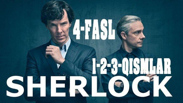SHERLOCK (4 FASIL rus tilida) HD 1-2-3-QISMLAR