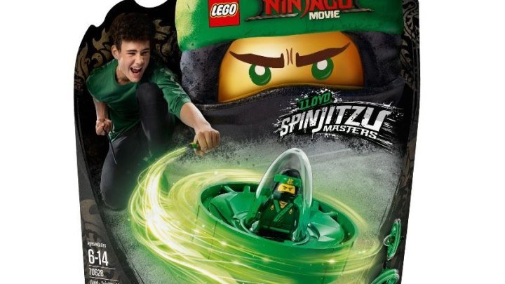 LEGO Ninjago Movie 2018 Спиннер Ллойд Мастер Кружитцу Обзор Новинки Ниндзяго (1)