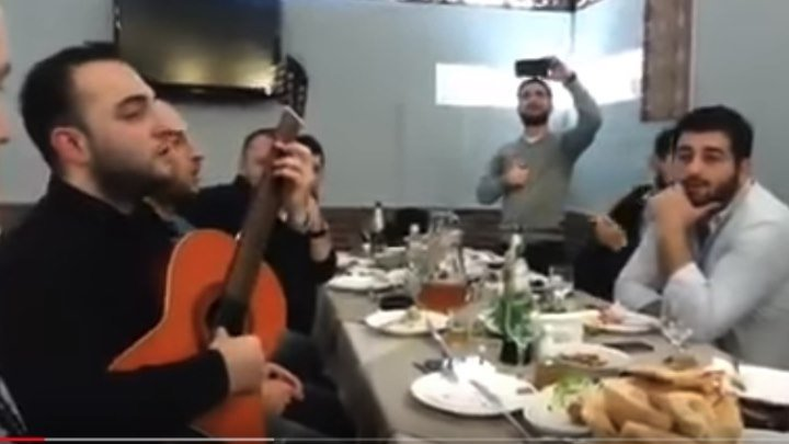 Эх,дороги (в исполнении грузин)