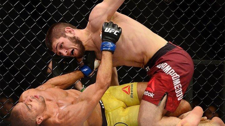 MMA - Хабиб Нурмагомедов VS Эдсон Барбоза полный бой