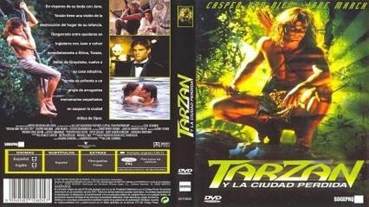 Tarzán y la ciudad perdida (1999) 2