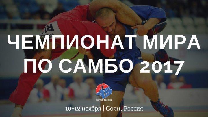 Live. Чемпионат мира по самбо. Сочи 2017. 3 день. Финалы