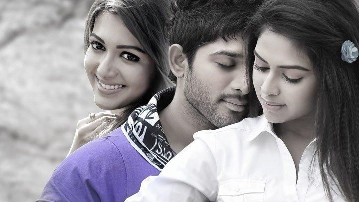 С двумя девушками (2013) Iddarammayilatho