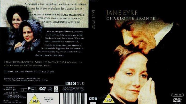 Джейн Эйр 11 серий ( Джулиан Эмис ) 1983, Великобритания, драма, мелодрама,*