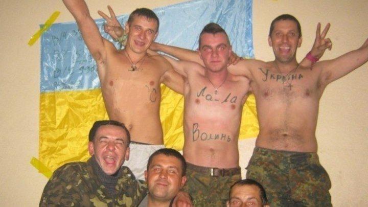 ВСУшники подожгли побратима. Самая лучшая и боеспособная армия в мире