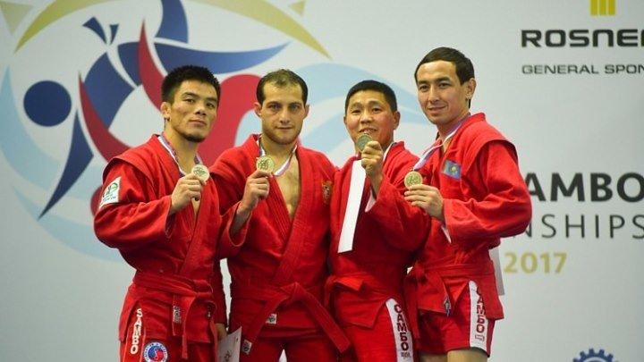 Тигран Киракосян стал чемпионом мира по Спортивному Самбо!