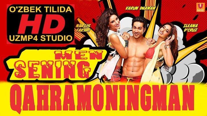 Men sening qaxramoningman HD xind kino (O'zbek tilida)uzmp4 studio