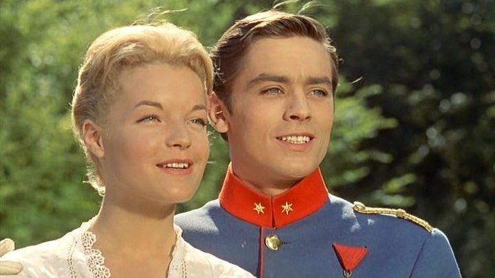 Кристина (ретро-мелодрама с Роми Шнайдер и Аленом Делоном) | Франция-Италия, 1958