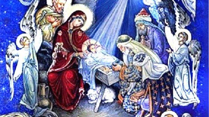 Рождественская ночь. Целование Креста. Фото сюжет .