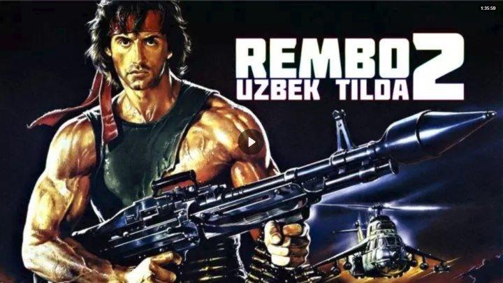 Rembo 2 O'zbek tilida HD