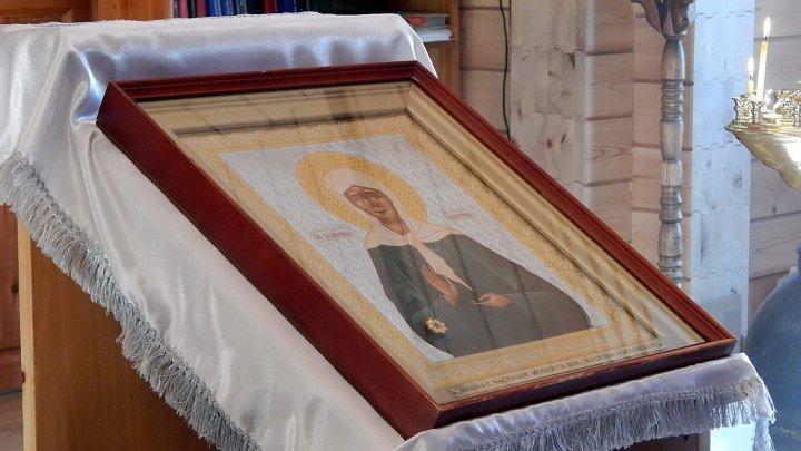 Икона святой блаженной Матроны Московской.