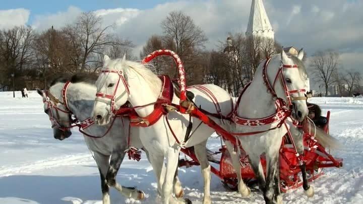 Старинный русский романс В лунном сиянии снег серебрится