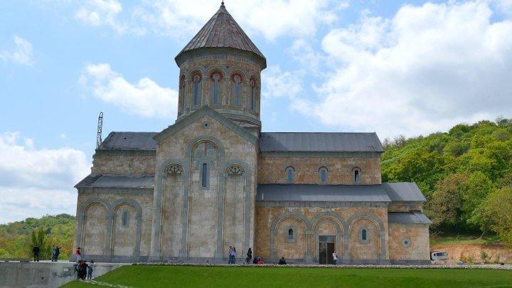 Грузия - Монастырь в Бодбе. (Georgia - Bodbe Monastery) 4К Ultra HD - Видео
