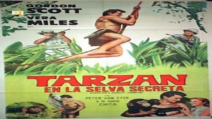 Tarzán en la selva escondida (1955) 3