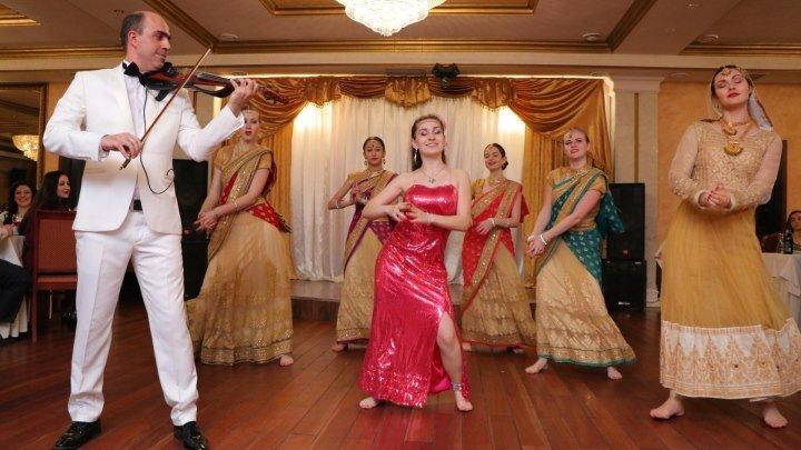 """Индийский попури ... Грачик Аванесян и шоу-балет Лины Гоел """"Амрапали"""""""