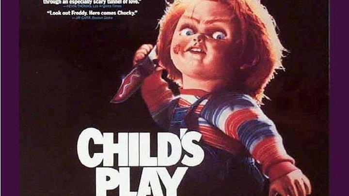 ДЕТСКИЕ ИГРЫ -1 HD(1988) 720p.Ужасы,Триллер,Детектив