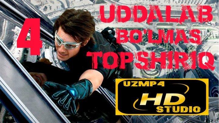 Uddalab bo'lmas topshiriq 4 HD O'zbek tilida (uzmp4 studio)