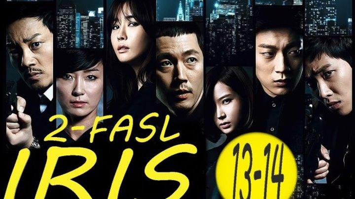 IRIS _ ИРИС ( KOREYA SERIALI 2-FASIL) HD 13-14-QISIM