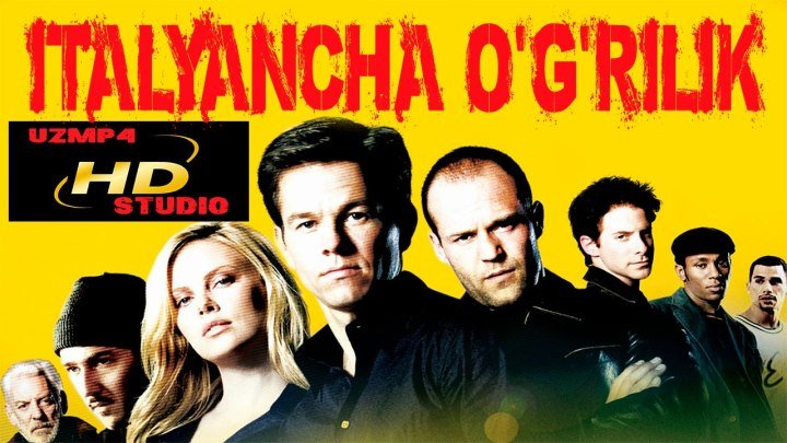 Italyancha O'g'irlik HD (O'zbek tilida uzmp4 studio)