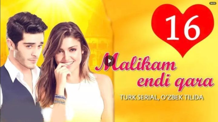 Malikam endi qara _ Маликам энди кара 16-Qism (Turk seriali uzbek tilida)
