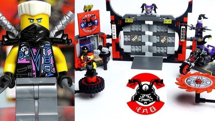LEGO Ninjago 70640 Штаб-квартира Сынов Гармадона Обзор набора