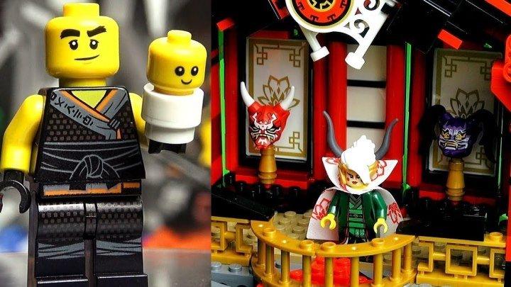LEGO Ninjago 70643 Храм Воскресения Обзор. Они-маски Сынов Гармадона Ниндзяго 8 сезон