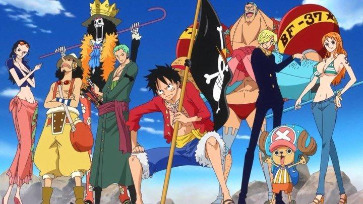 Ван Пис/One Piece - 821 Эпизод Переполох в замке , Луффи бежит на встречу! озвучка (P99)