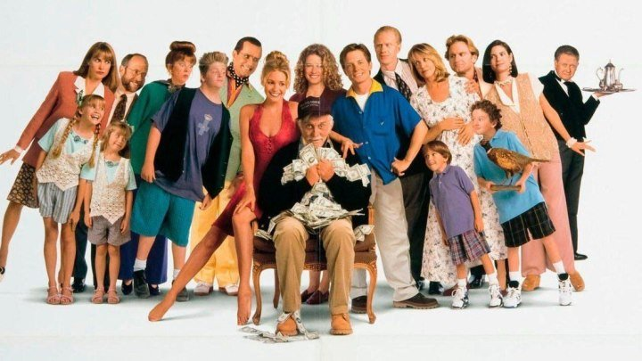 Жадность (1994) комедия (HD-720p) MVO Майкл Дж. Фокс, Кирк Дуглас, Нэнси Трэвис, Оливия д'Або, Фил Хартмен, Эд Бегли мл., Джер Бернс