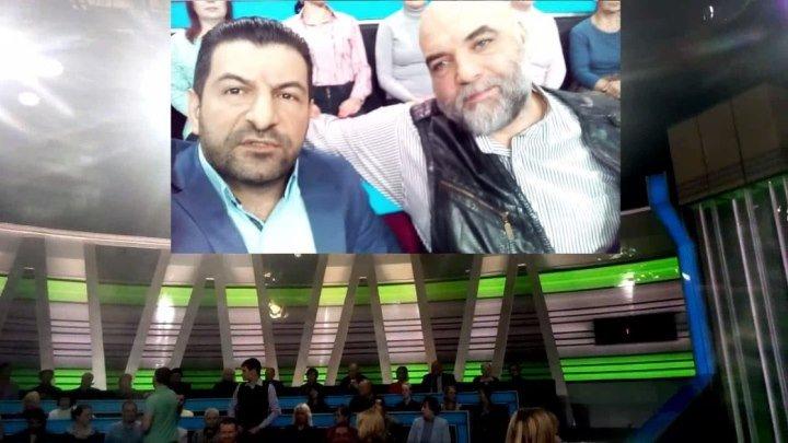 Фуад Аббасов с своим гардаш Орхан Джемаль сегодня на канале НТВ