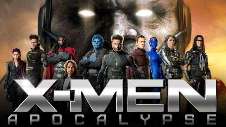 "Люди Икс: Апокалипсис (2016 Full hd) ""Боевик, Зарубежный фильм, Приключения, Фантастика"""