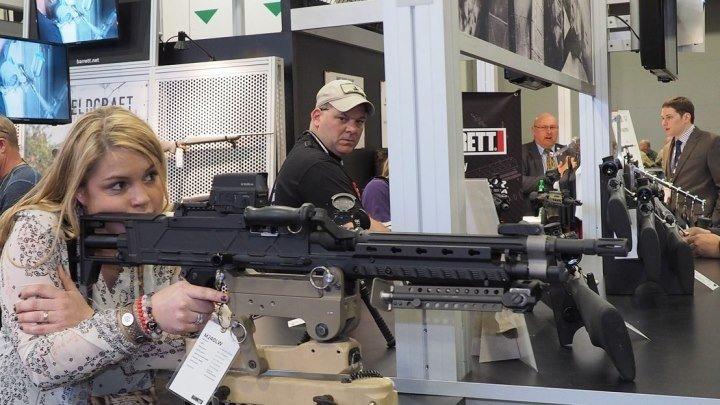 Оружейная выставка SHOT Show 2018. Основная экспозиция. Лас Вегас.