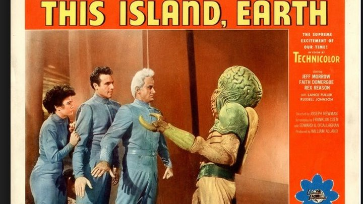 This Island Earth (1955) Jeff Morrow, Faith Domergue, Rex Reason, Lance Fuller , Director: Joseph M. Newman , (Eng).