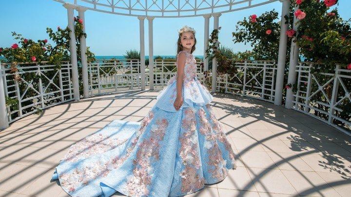 Презентация новой коллекции детских платьев 2018 бренда TRINITY bride