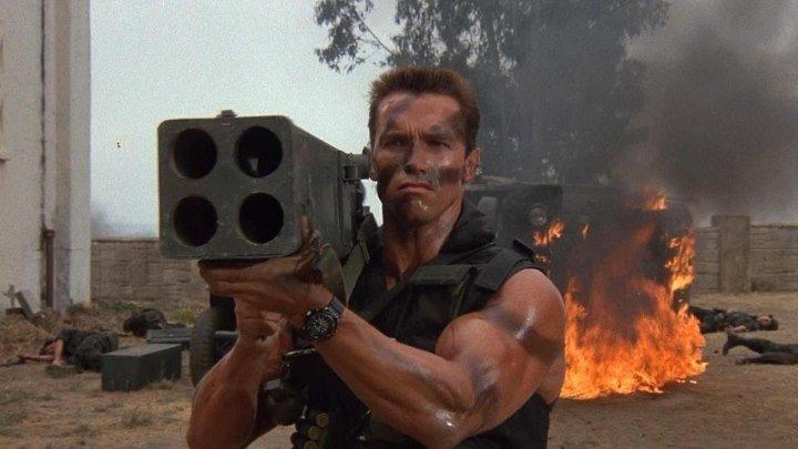 Коммандос (1985)Боевик, Триллер, Комедия, Приключения. Страна: США.