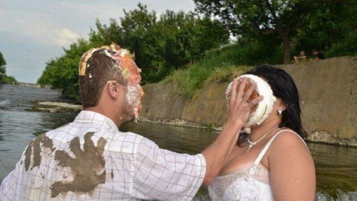 Опозорились на собственной свадьбе