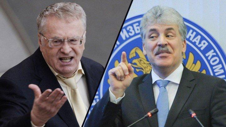 Жириновский разнес Грудинина на дебатах