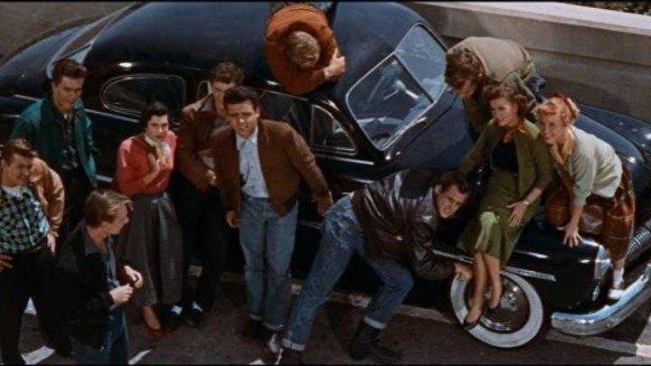 Бунтовщик без причины / Бунтарь без идеала (США 1955 HD) 16+ Драма, Мелорама