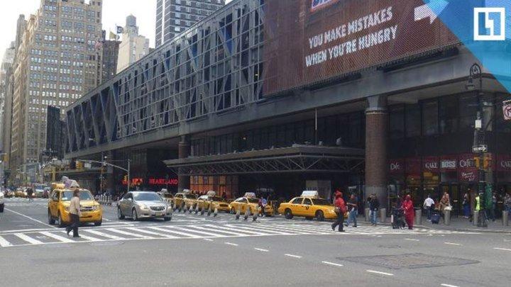 Взрыв на автовокзале в центре Нью-Йорка