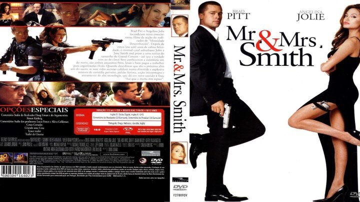Мистер и миссис Смит HD(2005) 1080p.Боевик,Комедия,Мелодрама,Приключения