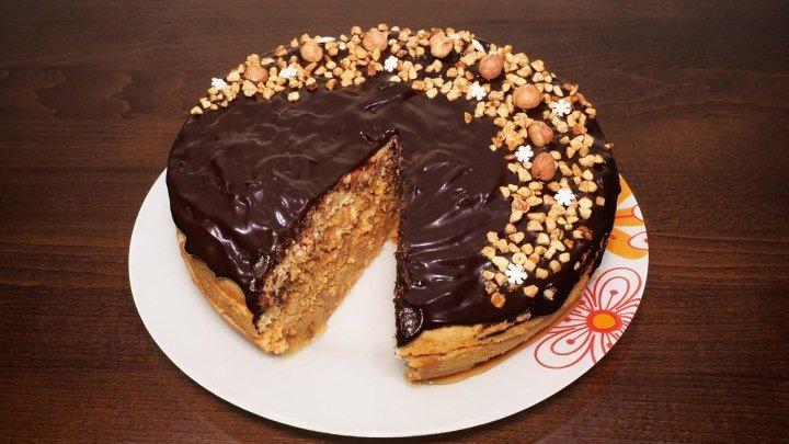 Супер торт ореховый в мультиварке, рецепт домашнего торта с орехами. Рецепты для мультиварки. Мультиварка. Выпечка в мультиварке