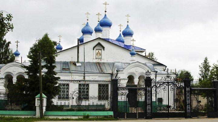 Казанский храм в селе Рожново Борского района
