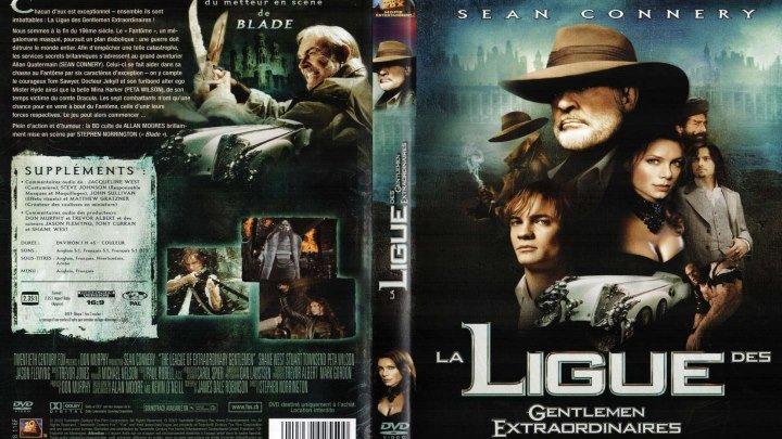 ЛИГА ВЫДАЮЩИХСЯ ДЖЕНТЛЬМЕНОВ HD(2003) 1080p.фэнтези,Боевик,Приключения