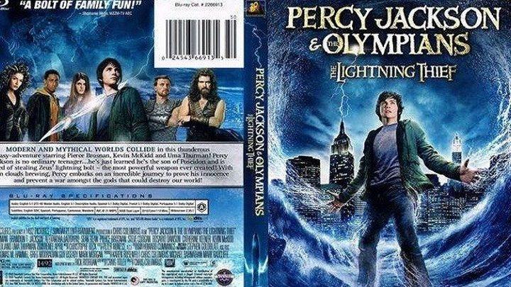 Перси Джексон -1\\Похититель молний HD(2010) 1080p.1080p.Фэнтези,Приключения,Cемейный