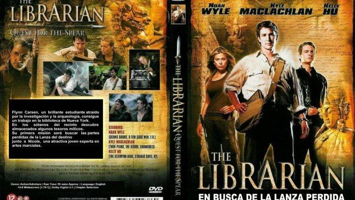 Библиотекарь -1\\В поисках копья судьбы HD(2004) 1080р.Фэнтези,Боевик,Приключения