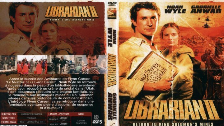 Библиотекарь -2\\Возвращение в Копи Царя Соломона HD(2006) 1080р.Фэнтези,Боевик,Приключения